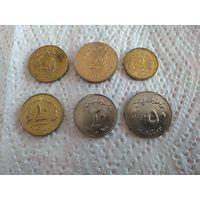 Судан набор 6 монет 1994-2003
