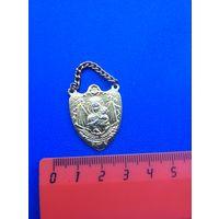 Католический медальон Божья Матерь
