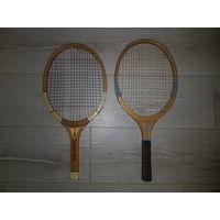Обрезанные теннисные ракетки, размеры на фото.