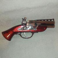 Сувенирный пистолет-зажигалка Мушкет