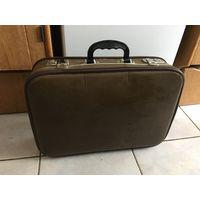 Чемодан небольшой СССР чемоданчик для инструментов или фотосессии