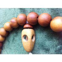 Чётки САНДАЛОВЫЕ ! Знаменитое индийское дерево с вечно манящим ароматом и лечебным свойством