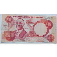 Нигерия 10 Найра 2005, XF, 631