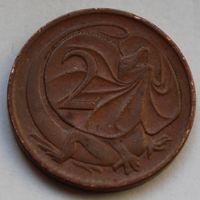 2 цента 1973 Австралия