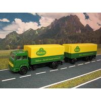 Модель грузового автомобиля Iveco. Масштаб HO-1:87.