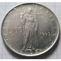 Ватикан 100 лир, 1965            ( 6-2-1 )