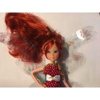 Кукла Феечка красотуля с шикарным рыжим волосом