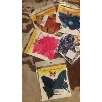 Бабочки 3d.Желтые и нижние -зеркальные проданы