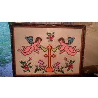 Картина крестиком Ангелы
