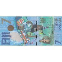 Фиджи 7 долларов 2017 (UNC)