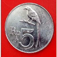 34-02 Индонезия, 5 рупий 1970 г.