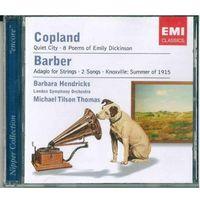 CD Aaron Copland, Samuel Barber / Barbara Hendricks, Michael Tilson Thomas, The London Symphony Orchestra (2006)