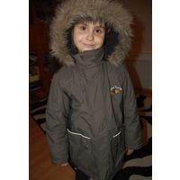 Куртка паврка Аляска на рост до 122см крутая