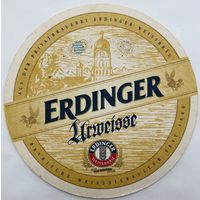 Подставка под пиво Erdinger /Германия/