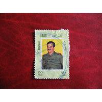 Марка Ирака 1983 год Саддам Хусейн