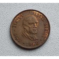 ЮАР 1 цент, 1982 Окончание президентства Бальтазара Йоханнеса Форстера 1-1-31