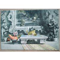 Галей Е. Приключения Чиполлино. Сыщик Моркоу у принца Лимона. 1956 г. Чистая