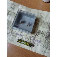 Часы кулон СССР , цирконий, документы и коробка,не с рубля