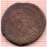 Рим Валентиниан II AE 2 Фоллис 375-392 гг