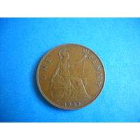 Великобритания 1 пенни 1929 г.