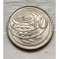 Каймановы острова 10 центов, 1999  2-1-11