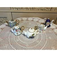 Чайник Коллекционный миниатюрный Англия 5 шт