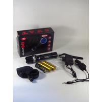 Тактический LED фонарь, Велофонарь, Супер Комплект