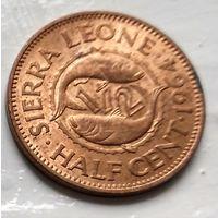 Сьерра-Леоне 1/2 цента, 1964  1-1-51