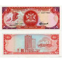 Тринидад и Тобаго. 1 доллар (образца 1985 года, P36c, UNC)