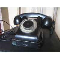 Советский телефон VEF, карболитовый корпус.1960 г.