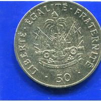 Гаити 50 сантимов 1991