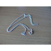 Цепочка с серебряным покрытием