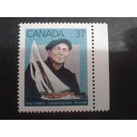 Канада 1988 моряк, парусник