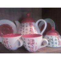 Китайский чайный сервиз на 2 персоны