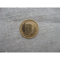 ШВЕЦИЯ: 5 крон золото 1920 год