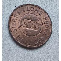 Сьерра-Леоне 1/2 цента, 1964 7-1-24