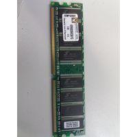 Оперативная память DDR1 1Gb Kingston PC-3200 KVR400X64C3A/1G (907293)