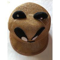 Шапка летняя кепка от солнца 50-52 натуральная