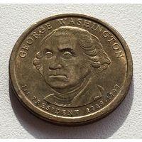 1 доллар 2007 Вашингтон