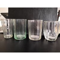 Старинные граненные стаканы.