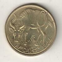 Эфиопия 10 сантим 2004