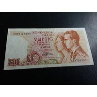 Бельгия 50 франков 1966 год
