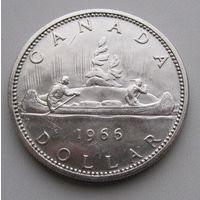 Канада, доллар, 1966, серебро