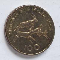 Танзания 100 шиллингов, 1994 5-8-4