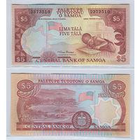 Распродажа коллекции. Самоа. 5 тала 2002 года (Р-33a. 2002-2006 ND Issue)