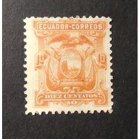 ЭКВАДОР\1648\ Эквадор 1881 Герб Mi11