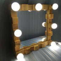 Зеркало настольное гримерное макияжное