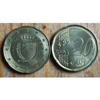 Мальта, 20 евроцентов 2008