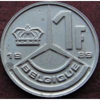 121:  1 франк 1989 Бельгия KM# 170