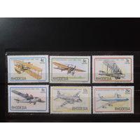 Родезия 1978 Авиация** Полная серия